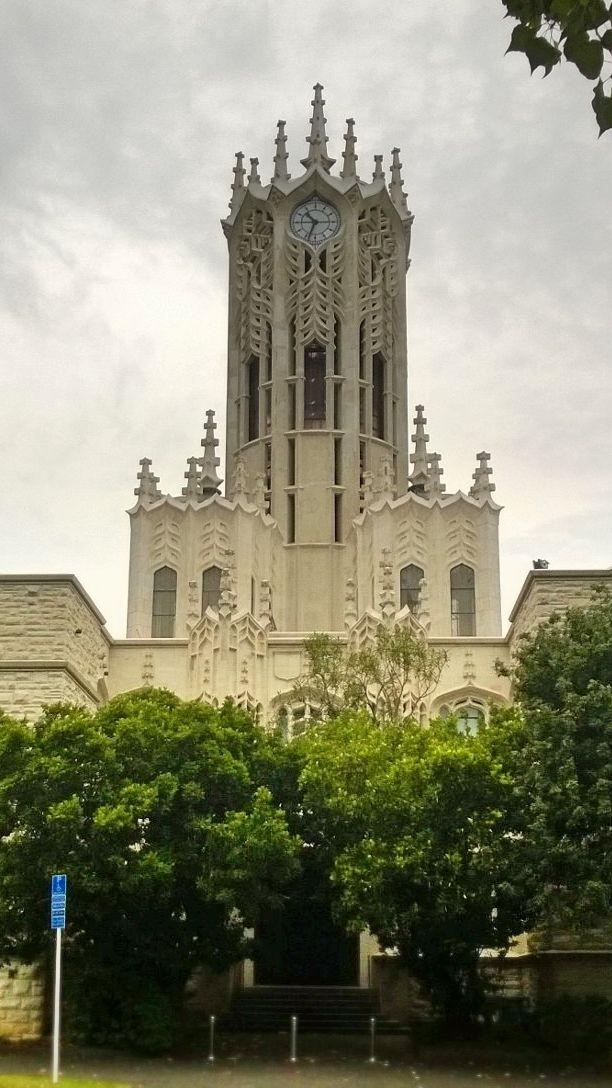 Auckland University clock tower