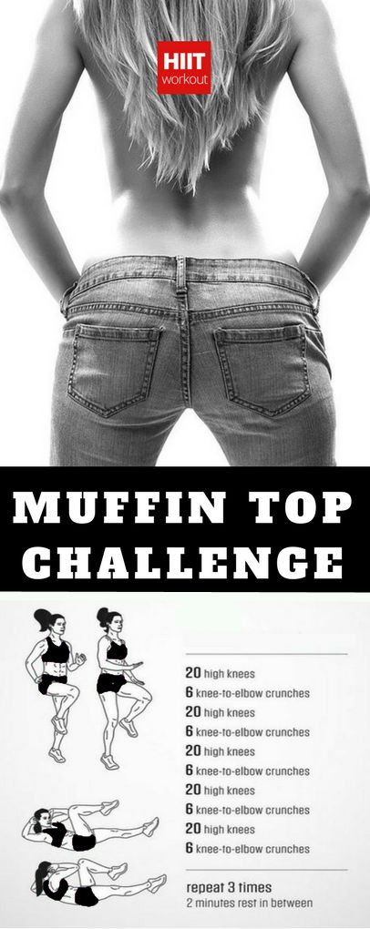 Love Handles and Muffin Top Workout for Women #fitness #workout #challenge