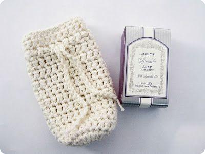 monkey makes three: Crochet Soap Saver/Scrub Pattern