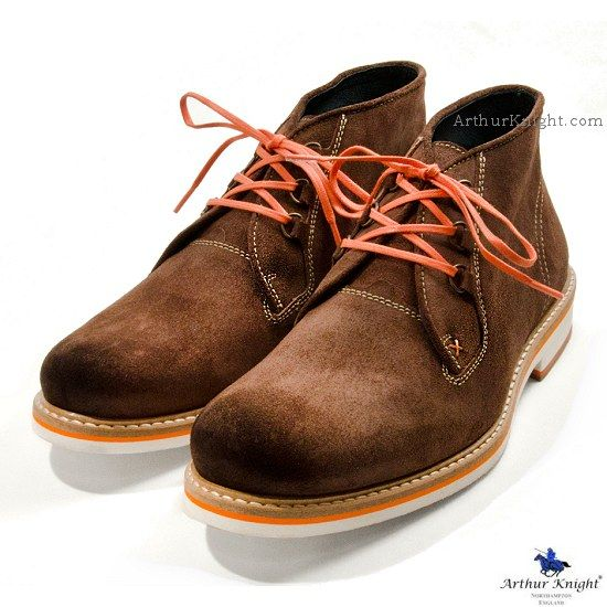 Milano Brown Chukka Boots Exceed
