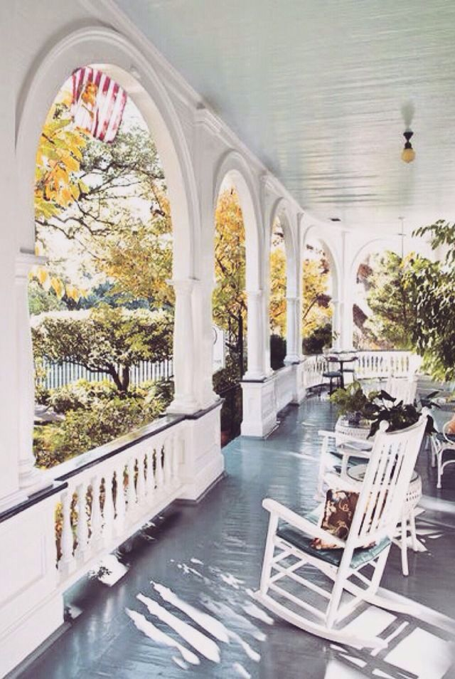 25 best ideas about southern front porches on pinterest southern porches southern homes and - Wood and stone house plans a charming symbiosis ...