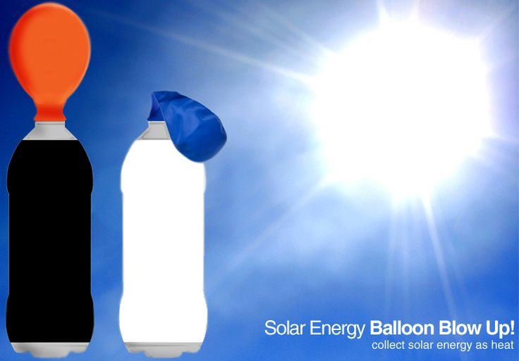 E is for Explore!: Solar Energy Balloon Blow Up!
