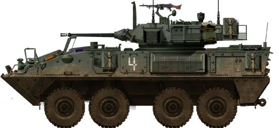 Coyote of the Royal Canadian Dragoons (Armoured), 2nd Canadian Mechanized Brigade.