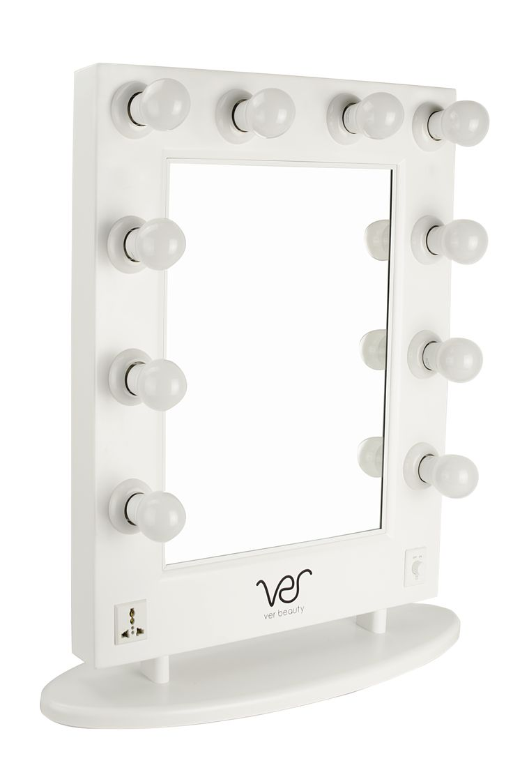 Ver VMR4512 Lighted Hollywood Vanity Mirror with Dimmer