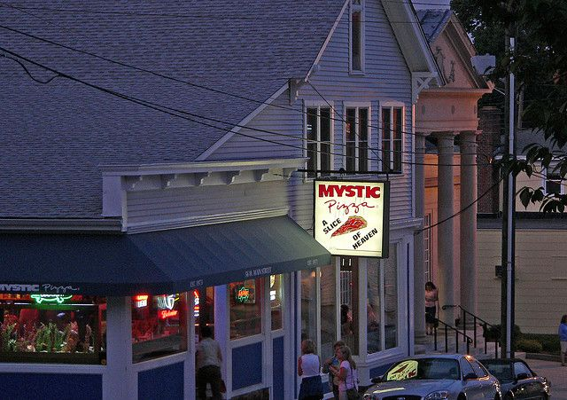 The real Mystic Pizza In Mystic, Connecticut ... visit as a Movie related Bucket List item ... Loved the movie!