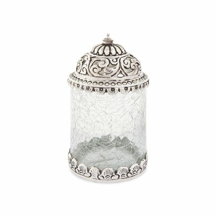 Pote vidro e metal zara home portugal home decor - Zara home portugal ...