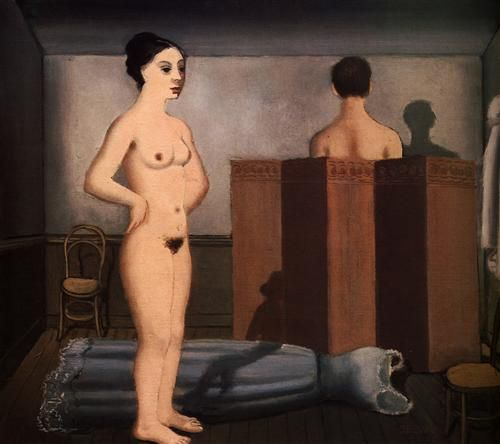 The Screen - Paul Delvaux
