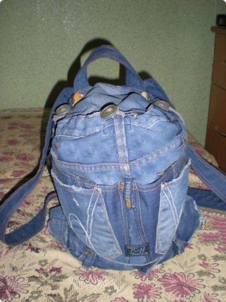Рюкзак из джинсов ребенку своими руками фото 82