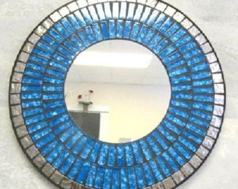 Mosaic Mirror by BlackFishes on Etsy