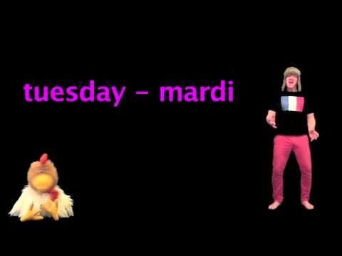 French For Kids - Days of the week in French - French Lessons with Jingle Jeff