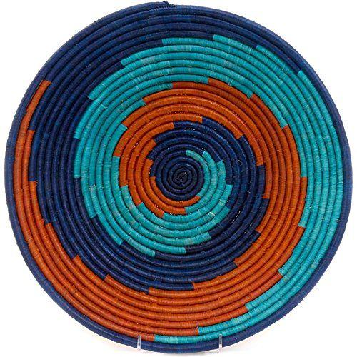 "Fair Trade Uganda African Bukedo & Raffia Bowl 15-16"" Across, #UR42 Baskets of Africa http://www.amazon.com/dp/B008XN2W98/ref=cm_sw_r_pi_dp_6Fc1ub1AN5D8B"