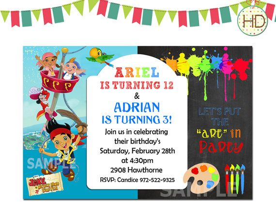 81 best Joint Birthday Invitation Split Invitations Twin – What to Put on a Birthday Invitation