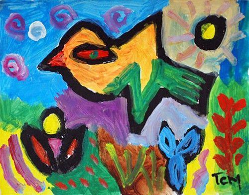 "T.C Murphy, ""Icarus"" #art #painting #myth #Icarus #bird #DukeStreetGallery"