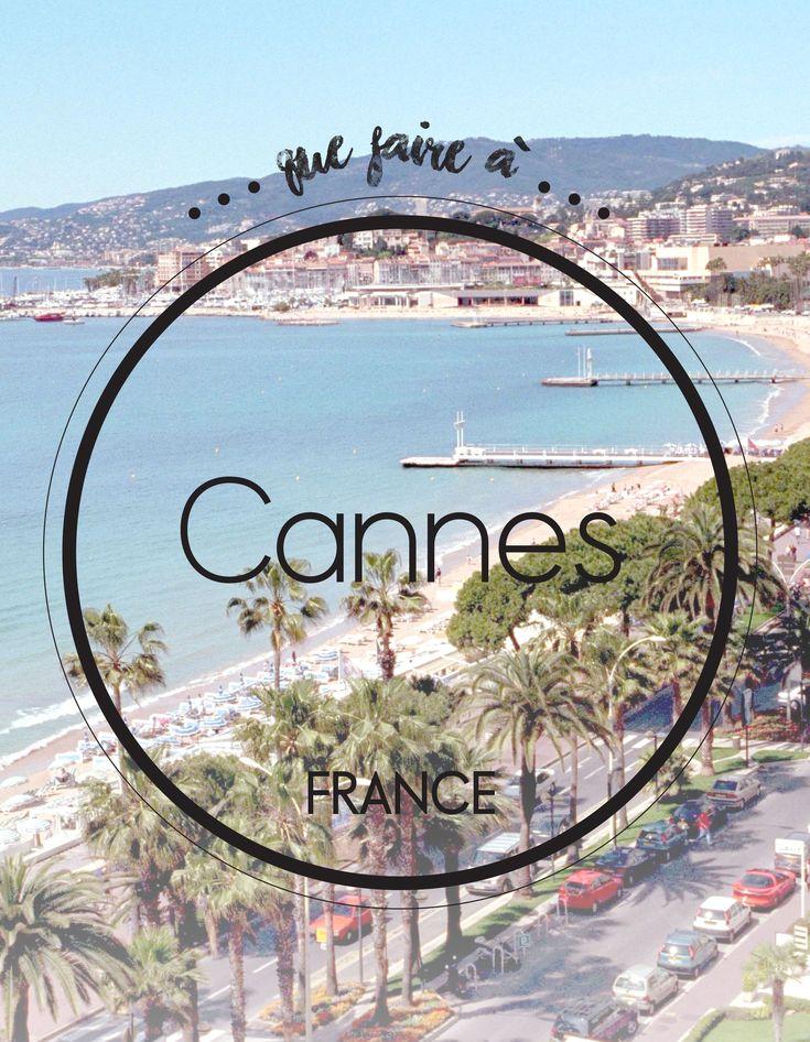 Que faire à Cannes : notre guide des meilleures adresses à Cannes - Elle