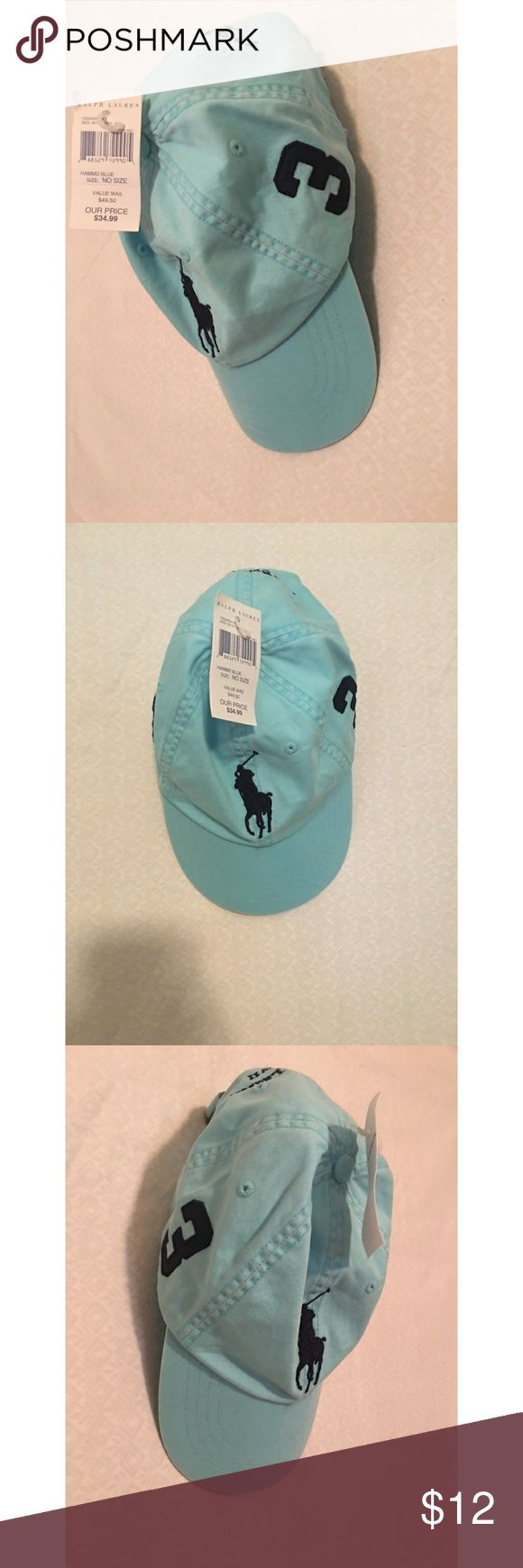 Ralph Lauren Polo baseball cap NWT This is a  ladies baseball cap from Polo. There is a tiny dot on the front, shown in pics. NEW. Smoke-free home. Thanks Polo by Ralph Lauren Other