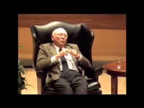 A Conversation with Charlie Munger (U Michigan)- 2010