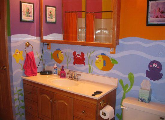 1000 ideas about fish bathroom on pinterest framed for Preschool bathroom ideas