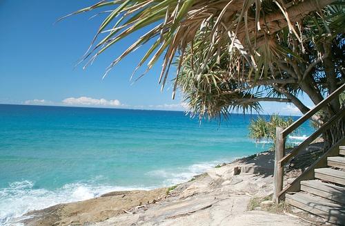 Cylinder beach North Stradbroke Island