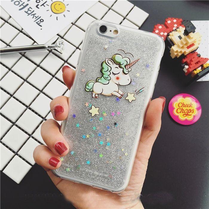 Glitter Unicorn iPhone Case – Bee and Buzz
