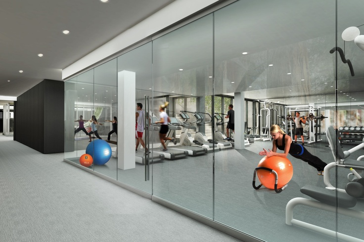 gym rendering  chelsea  unionsquare  westvillage