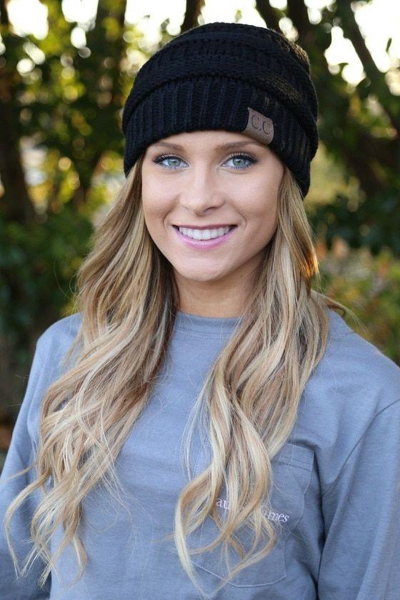 d174f78f7d8 cc beanie blush beanie hat boutique women s clothing store cc beanie navy  cc beanie
