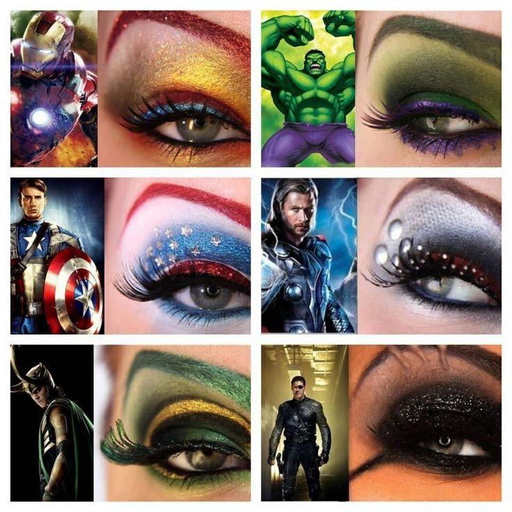 Super Hero Makeup | Make One Up (makeup) | Pinterest ...