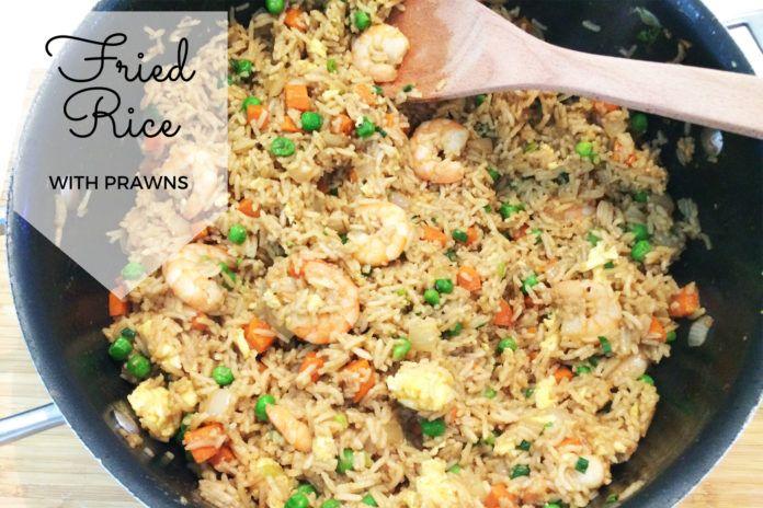 Fried Rice with Prawns Recipe