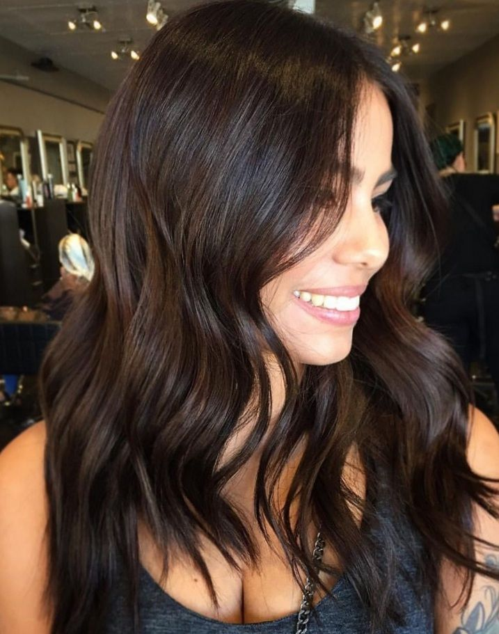 15 Fabulous Dark Brown Hair Color Ideas Brunette Hair Color Hair Makeup Brown Hair Colors