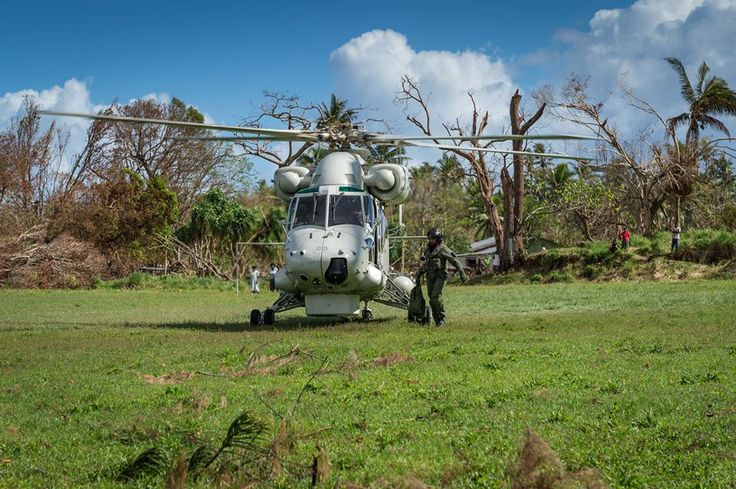 The Navy, Army and Air Force continue to combine their expertise and efforts as they focus on rebuilding Epi Island in Vanuatu
