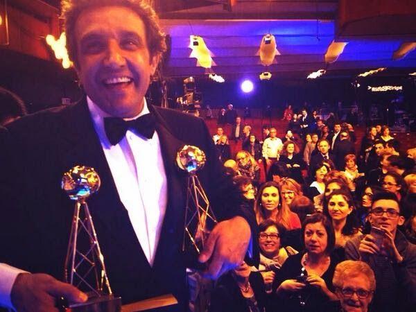 """Flavio Insinna Il Conducente: Premio Tv 2014, Flavio Insinna: """"Affari Tuoi ha vi..."""