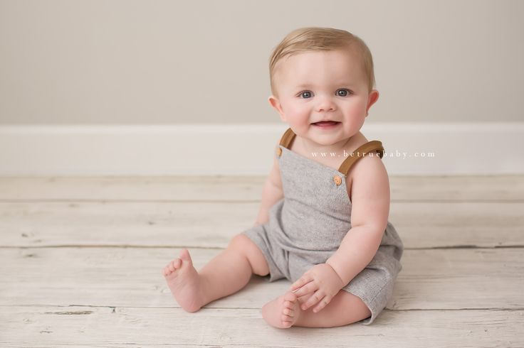 "Oh my goodness, what a sweetheart 8-month old baby Jackson is! He stopped in to the studio this morning to capture some ""sitting up"" portraits."