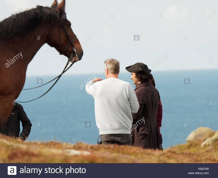 Download this stock image: Poldark location filming for series 4 2018 Porthgwarra cove, 18th September, 2017, Cornwall, UK. - K92CN9 from Alamy's library of millions of high resolution stock photos, illustrations and vectors.