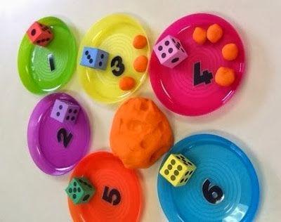 An idea on Tuesday: Playdough Maths Activity ≈≈