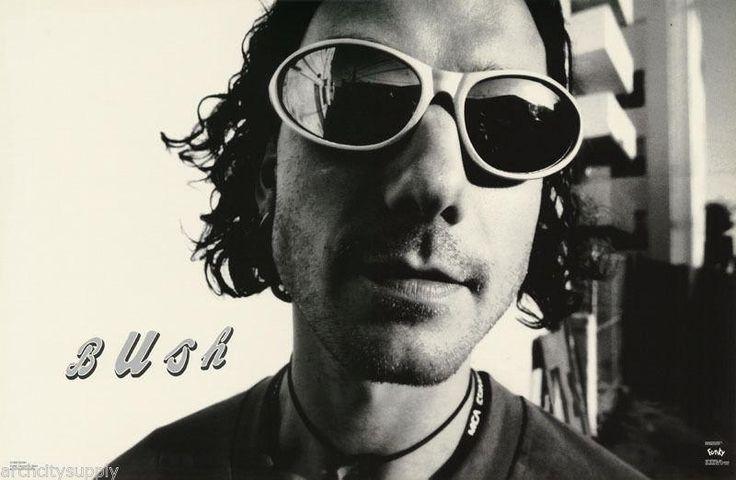 Bush Band Gavin Rossdale Sunglasses 1995 Rare Poster