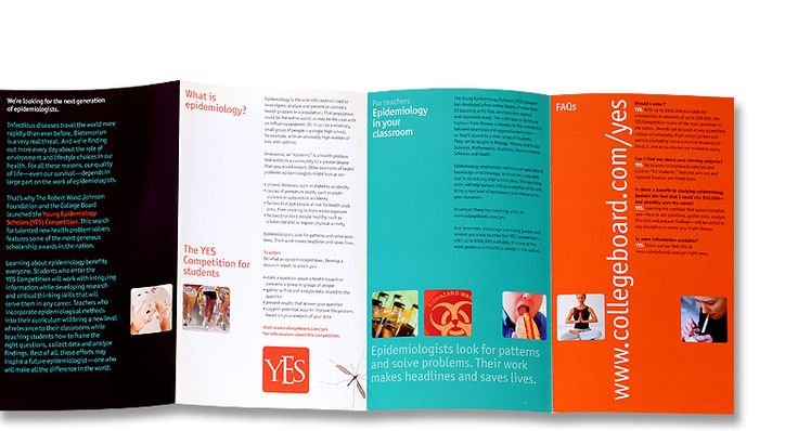nice Executive search firms, job consultants, headhunter brochure - sample marketing brochure