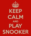 Keep Calm and Play Snooker Poster, available from www.hamiltonbilliards.com