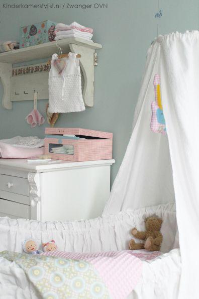Styling #babykamer by www.kinderkamerstylist.nl