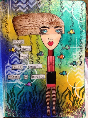 CrazyColorfulChristine: Journal pages!