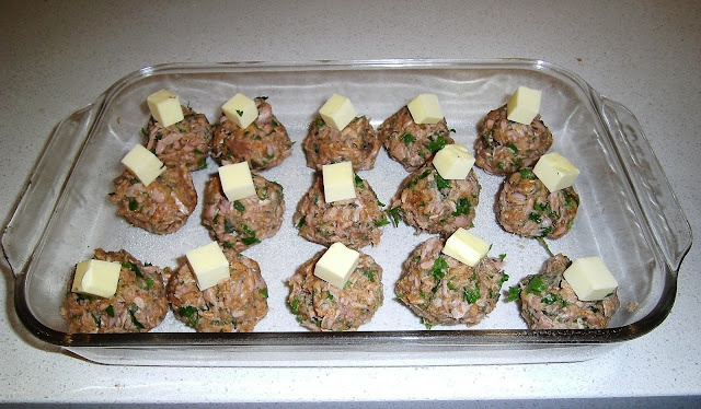 SALMON OR TUNA RISSOLES