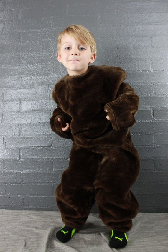 i need to make one of these bear costumes for CJ.   Vintage Bear Costume Wookie Costume by myswagshack, $35.00