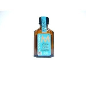 $16.50 Moroccan Oil. Apply to ends of hair before blow drying