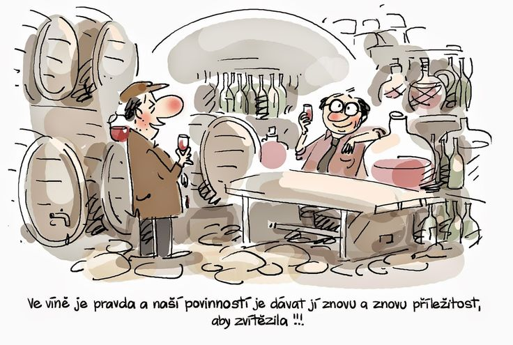 VO TOM TO JE: Ve víně je pravda...tak pijte, třeba lži zatnete t...
