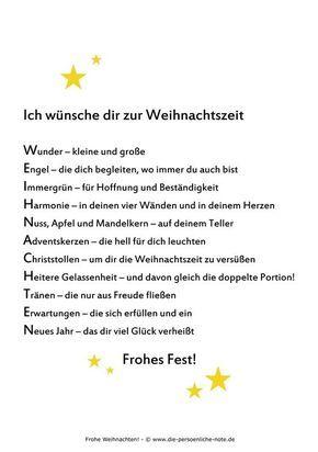 """Kostenloser PDF-Download im Adventskalender der """"24 kleinen Wortgeschenke"""": Weihnachtswunsch (zum Ausdrucken, Weitergeben, Verschenken, für die Weihnachtsgrüße, ...):"""