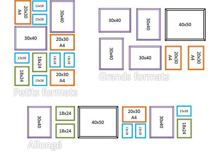 Diff rentes composition de mur de cadres design for Composition mur exterieur