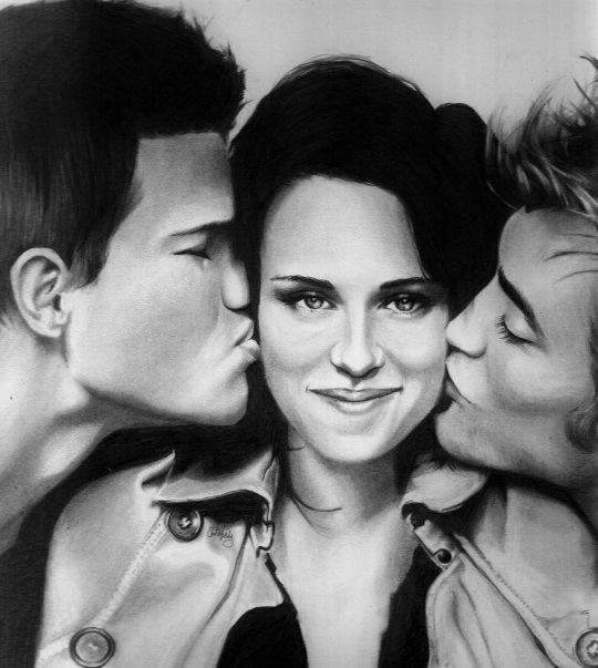 Pencil art by Caitlin