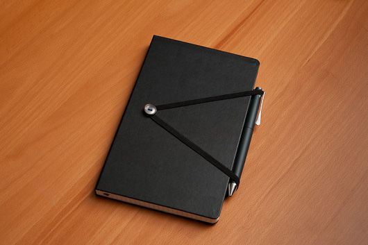 Love this, but it'll alter the flat writing angle on the left/cover side of the notebook.