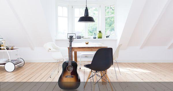 Viel Holz, viel Weiß, viel Tageslicht – mein Zuhause im Alstertal.