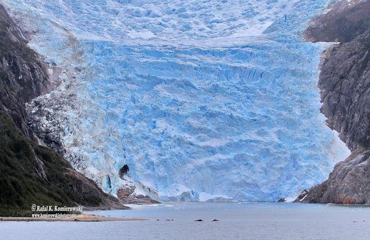 Glacier pia.  Parque Nacional Alberto Agustini. Chile. XII Región de Magallanes y Antártica Chilena.