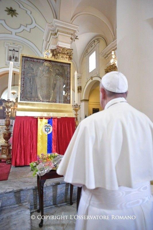 Viaje apostólico del Santo Padre a Colombia (6-11 de septiembre de 2017)