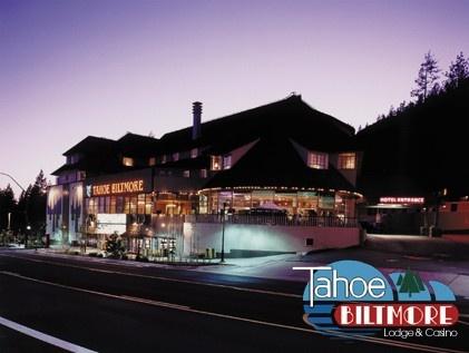 Tahoe Biltmore at night